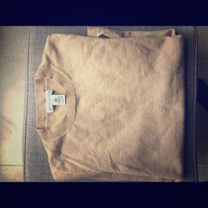 Banana Republic merino wool warm tone Tan sweater